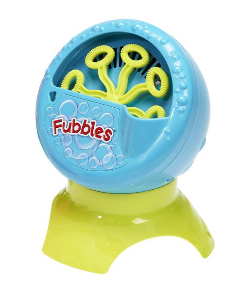 Little Kids Fubbles Bubble Blastin' Bigger Bubbles Kids Automatic Party Machine and Includes 4oz of Bubble Solution Toy, Blue