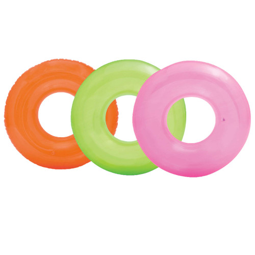 Intex 59260ep Transparent Swim Tube, Age 8+ Assorted Colors