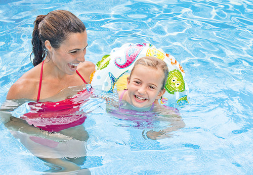 "Intex Recreation 59230EP Lively Print Swim Ring 20"", assorted designs"