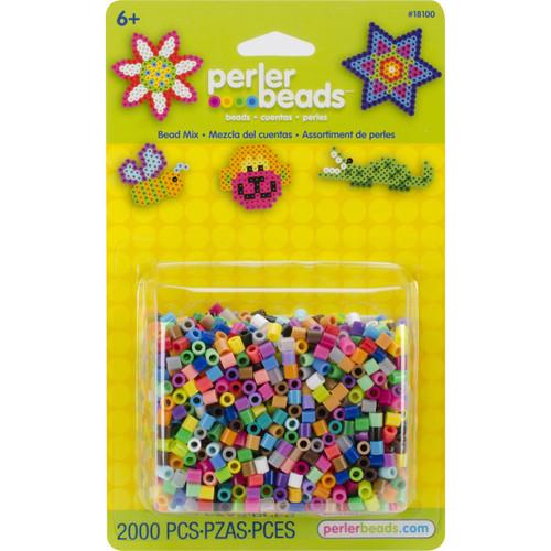 Perler Bead Mix 2,000/Pkg-Multicolor