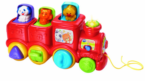 VTech Roll & Surprise Animal Train
