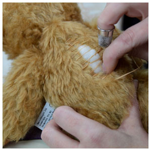 Making Handmade Merrythought Teddy Bears