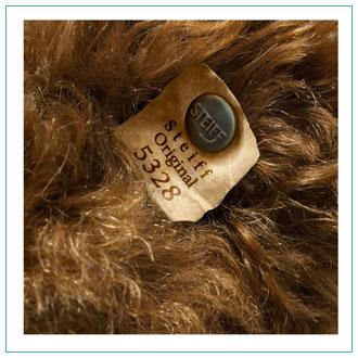 Steiff Teddy Bear Button in Ear