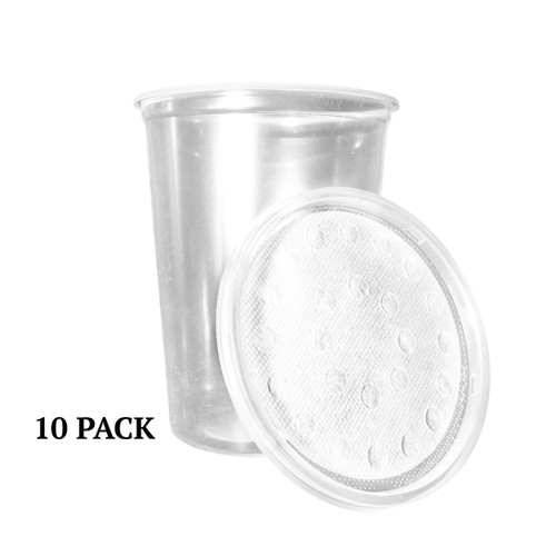 10 - 32 ounce Cups and Lids