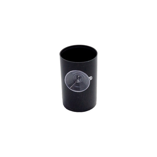 Black Film Canister with Suction Cup