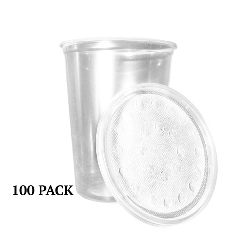 100 - 32 ounce Cups and Lids