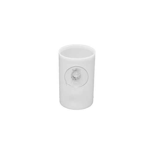 White Film Canister with Suction Cup