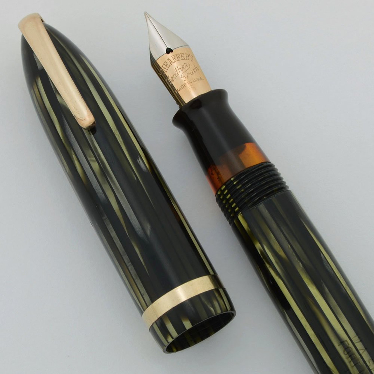 fine--new old stock Sheaffer Vintage Prelude nib with section and feed