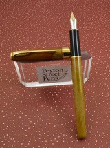 Parker Sonnet I Rollerball Pens - Chinese Laque Amber, Hand Painted (New Old Stock)