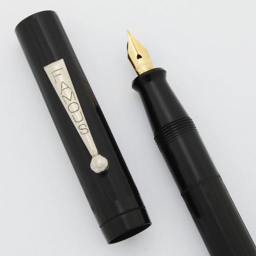 Famous Fountain Pen - BCHR, Flexible Fine 14k Nib (Excellent, Restored)
