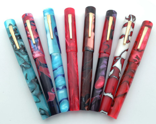 PSP Ranga Davenport Fountain Pen - Acrylic, JoWo Nibs, Cartridge/Converter (PSP Exclusive)
