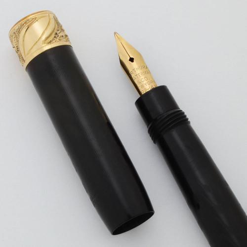 A. A. Waterman 291M Fountain Pen (1912) - BCHR, Twist Filler,  14k Flexible Fine Nib (Superior, Restored)