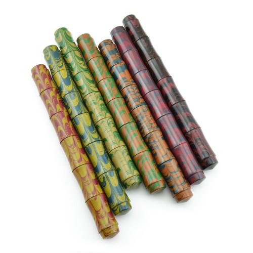 Ranga Ebonite Bamboo Fountain Pen - Ebonite, JoWo Nibs, Cartridge/Converter