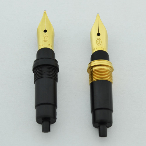 Cartier 18k Nib Units (1970s-80s) - Small, Various Nib Widths  (NOS)