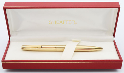 Sheaffer Triumph Imperial 2797 Ballpoint Pen (1990s) - Gold Lined (New Old Stock, In Box)