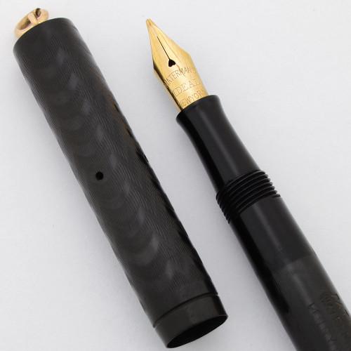Waterman 52 1/2 V Fountain Pen - BCHR Ringtop, Flexible Medium New York Nib (Very Nice, Restored)