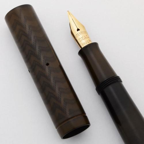 Waterman 12 PSF Fountain Pen - BCHR, Nickel Trim, Flexible Fine Canada #2 Nib (Excellent, Restored)