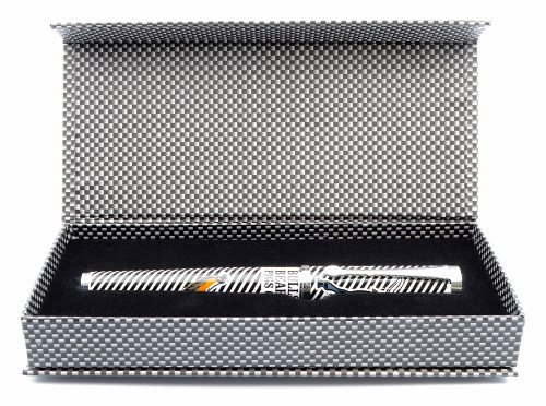 """Jac Zagoory Rollerball Pen - """"The Street"""", Multi-Colored  (Near Mint in Box, Works Well)"""