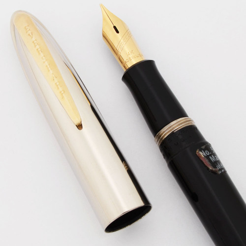 Eversharp Symphony 500 (Loewy First Version) Fountain Pen -  Manifold 14k Nibs (New Old Stock w Cap Blemishes, Restored)