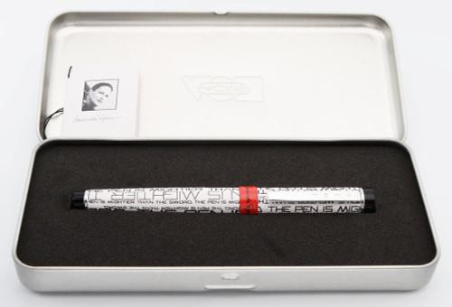 "ACME Studios Laurinda Spear ""Quote"" Fountain Pen - Fine Steel Nib (Mint in Box, Works Well)"