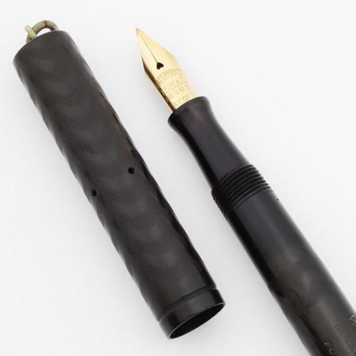 Waterman 52 1/2 V Fountain Pen - BCHR NPT Ringtop, Fine Flexible Nib (Excellent, Restored)