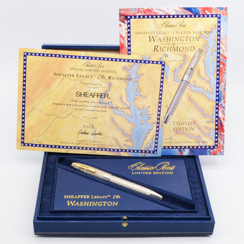 "Sheaffer Classic Pens CP4 Limited Edition ""Washington"" Fountain Pen - 18k EF Nib, 130/500 (Near Mint in Box)"