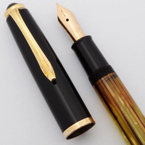 Pelikan 400NN Fountain Pen (1957-65) - Tortoise, Piston Filler,  Medium 14k (Very Nice, Works Well)
