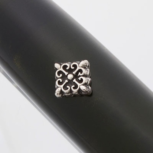 Fine Silver Roll Stops - Various Small Designs, Installation Required