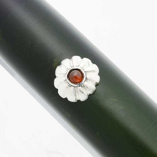 Fine Silver Roll Stops - Various Deluxe Designs, Installation Required