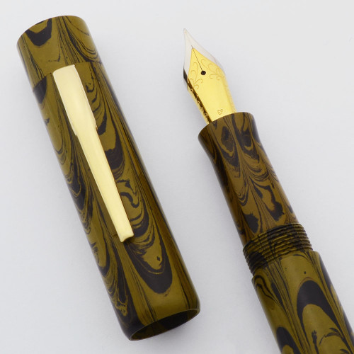 PSP Ranga Davenport Ebonite Fountain Pen -  JoWo Nibs, Cartridge/Converter/Eyedropper (PSP Exclusive)