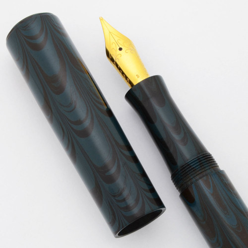 PSP Ranga Miwok 2 Fountain Pen - Ebonite, JoWo Nibs, Cartridge/Converter (PSP Exclusive)