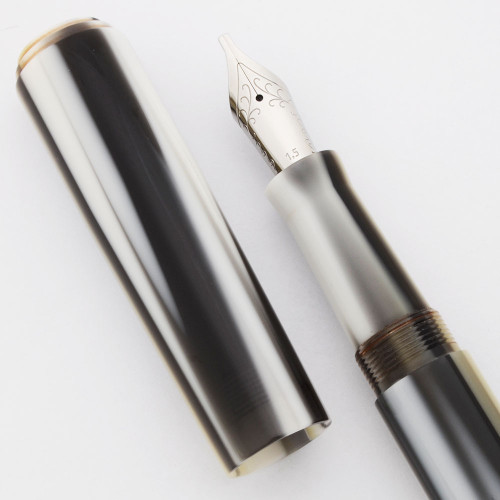 PSP Ranga Miwok 2 Fountain Pen - Premium Stripes Acrylic, JoWo Nibs, Cartridge/Converter (PSP Exclusive)