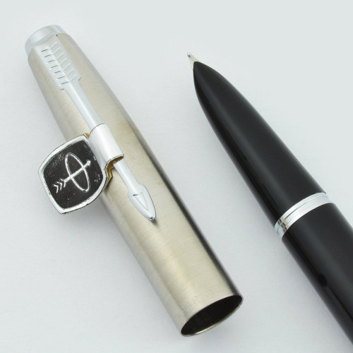Parker SUPER 21 Fountain Pen - Various Colors, Steel Caps (Refurbished New Old Stock)