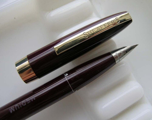 """Sheaffer Imperial III Touchdown Fountain Pen - """"Seconds"""" (New Old Stock)"""