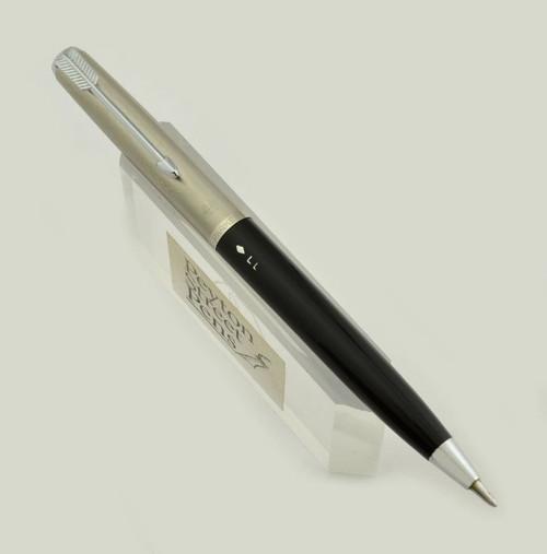 Parker 51 Mechanical Pencil - Liquid Lead, Demi, Black w Steel Cap (Excellent)