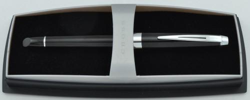 Cross Aventura Rollerball Pen - Onyx Black, Chrome Trim (Near Mint, In Box)