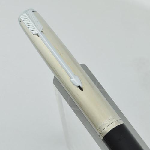 Parker 51 Mechanical Pencil - Liquid Lead, Black w Steel Cap, Black Jewel (Excellent)