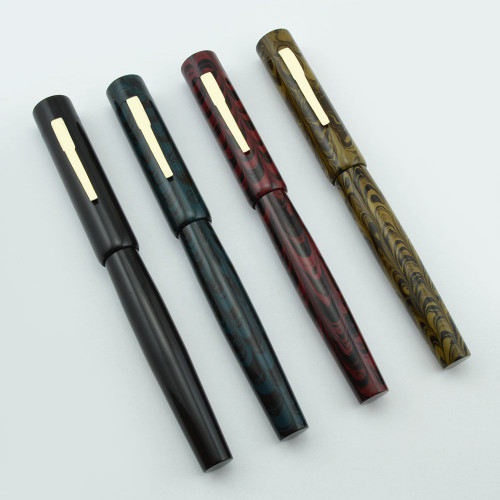PSP-Ranga Ebonite Model 3NN Flat-Top Fountain Pen - for Sheaffer No Nonsense Nibs (New)
