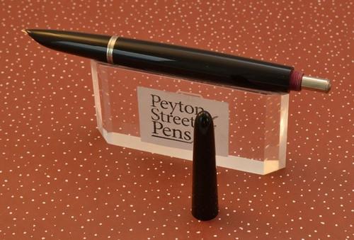 "Parker 51 ""Red Band"" Desk Pen - Extremely Hard to Find! (Unrestored)"