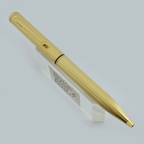Sheaffer Grand Connaisseur Ballpoint - Model 822, Gold Lined, Made in USA (New Old Stock in Box)