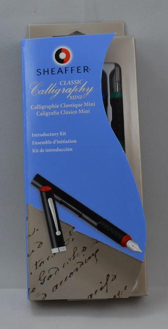 Sheaffer Mini Calligraphy Set - One Pen w Three Italic Nibs (New in Box)
