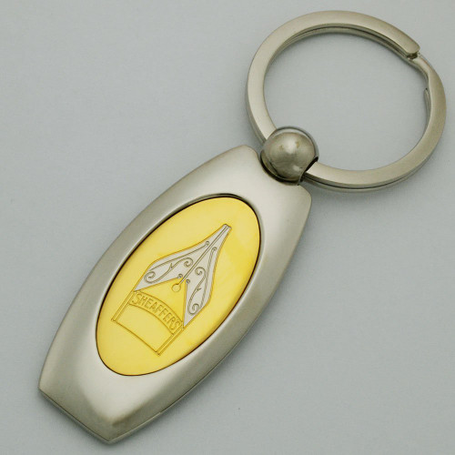 Sheaffer Key Ring (1990s) - Prelude Nib, Metal (New)