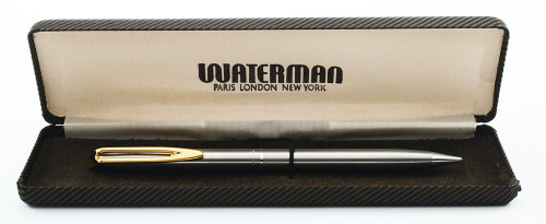 Waterman CF Mechanical Pencil (1970s) - Flighter-Style, 0.9mm (New Old Stock in Box, Works Well)