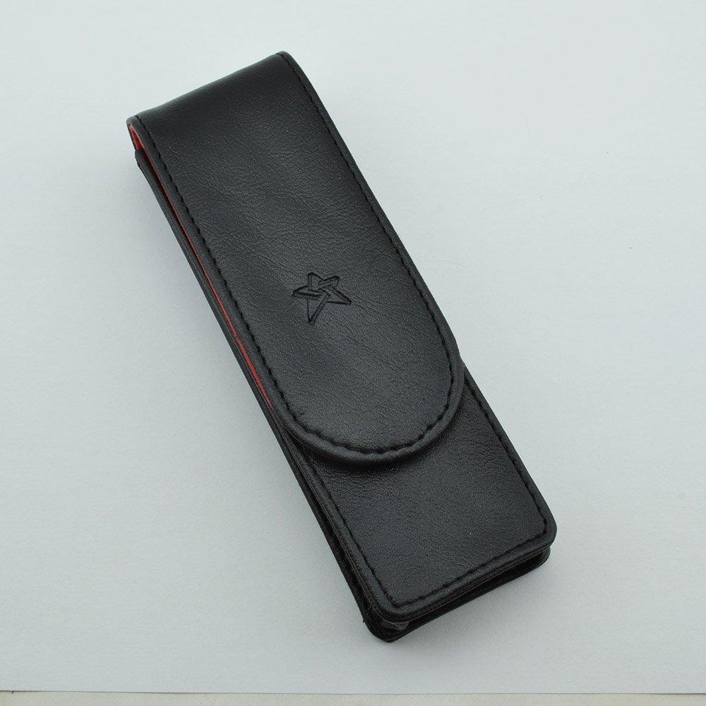 C88 Triple pen case in burgundy