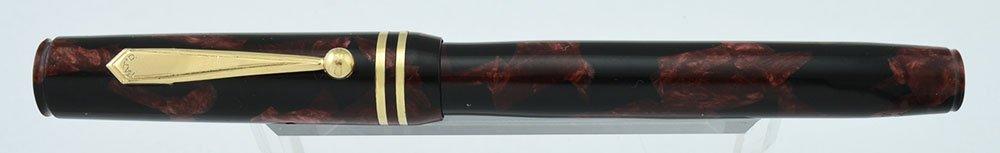 Eagle Prestige Fountain Pen Red And Black Marble Fine