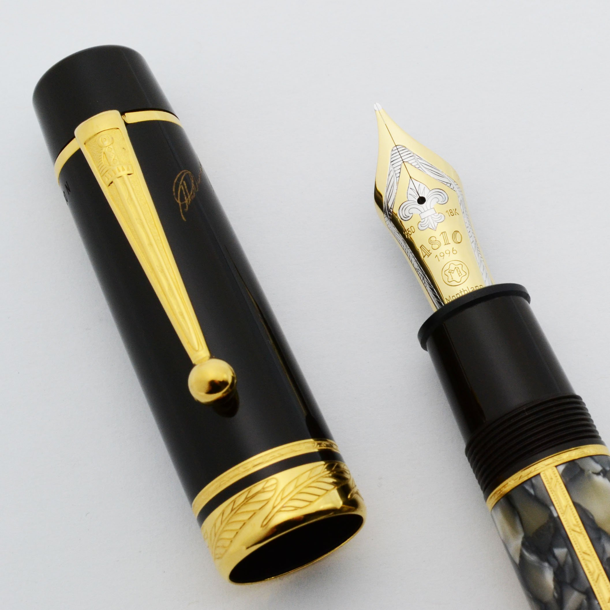 Montblanc Writers Edition Le Fountain Pen 1996