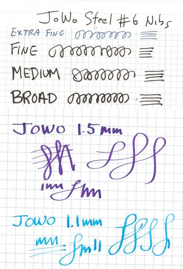 Jowo Nibs writing sample