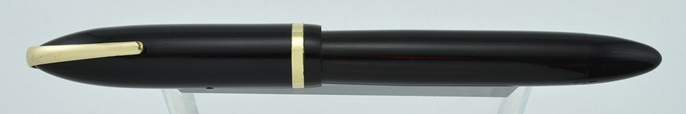 Sheaffer Balance 500 with Military Clip, vac-fil, 14k Two-tone Feather Touch #5 nib