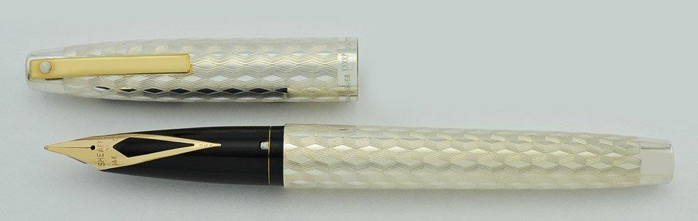 Sheaffer Imperial 834 Fountain Pen Set Sterling