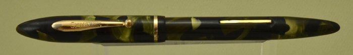 Sheaffer Balance 3-25 - Slender Full Length, Green Marble